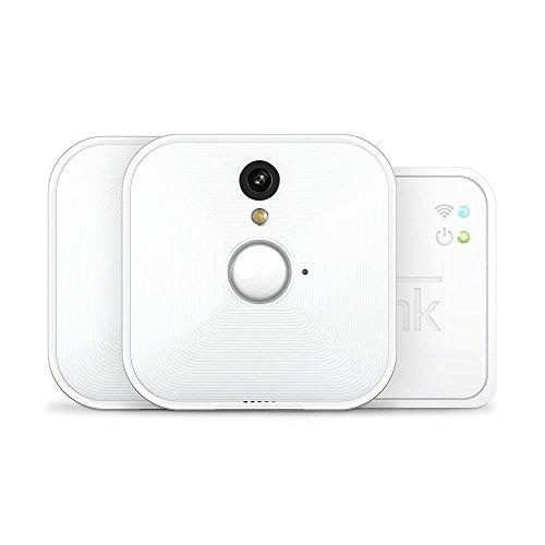 Blink System für Videoüberwachung (1. Gen.), für den Innenbereich, mit Bewegungserkennung, HD-Video, 2Jahre Batterielaufzeit, inkl. Cloud-Speicherdienst, Ein-Kamera-System