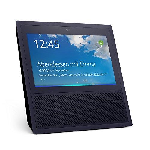 Echo Show (1. Gen.), Intelligenter Lautsprecher mit 7-Zoll Bildschirm und Alexa - schwarz