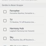 Amazon Alexa App neue Gruppe erstellen