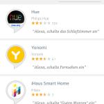 Amazon Alexa App Hue Skill