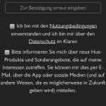 Amazon Alexa App My Hue Konto erstellen