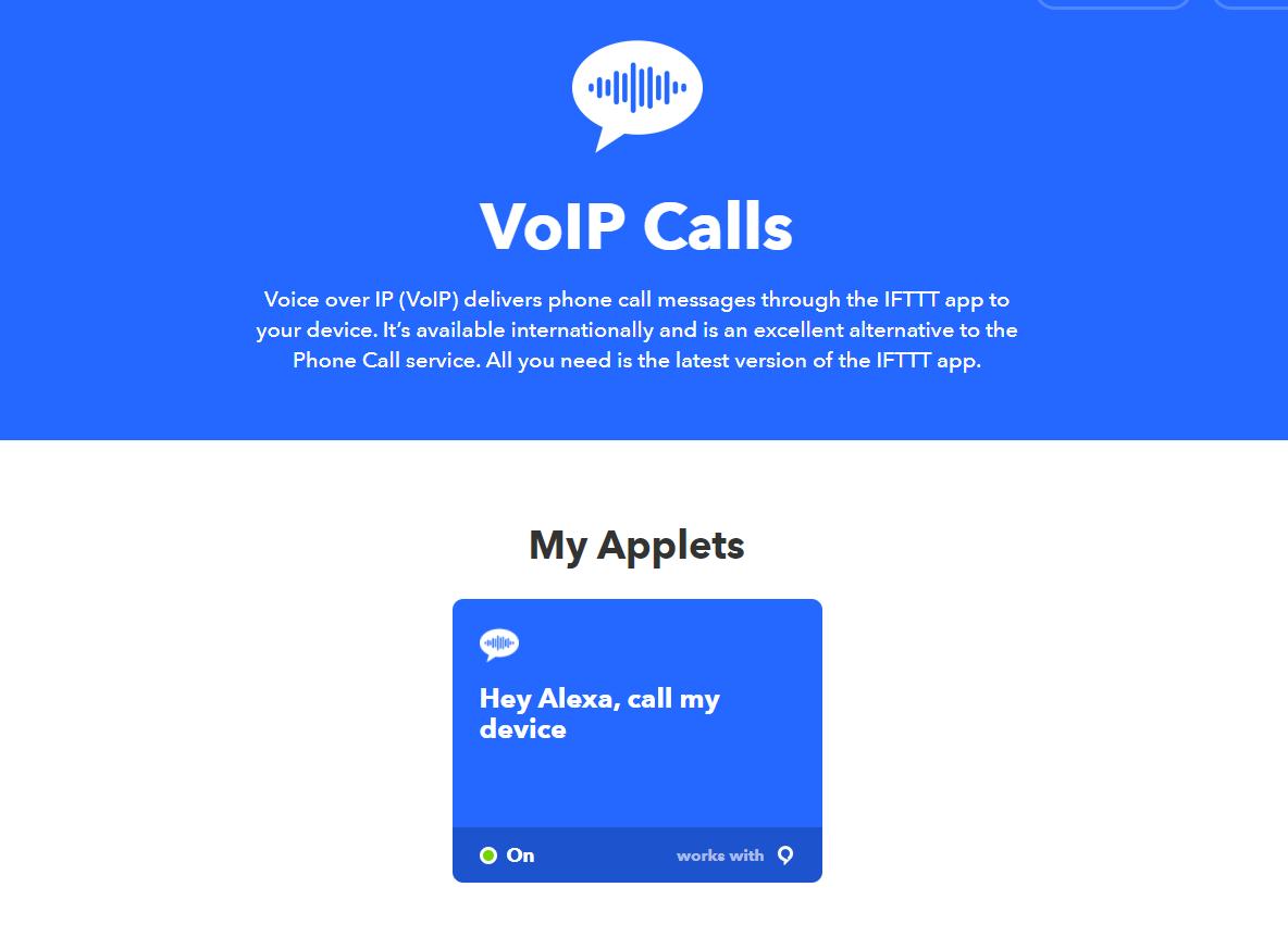 IFTTT Trigger um dein Handy klingeln zu lassen