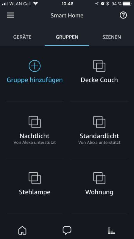 amazon alexa schalte licht ein ber smart home gruppe intuitiv bedienen. Black Bedroom Furniture Sets. Home Design Ideas