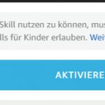 Alexa vor Skill_Nutzung Zugriff erlauben