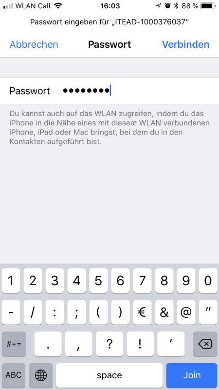 eWeLink App Einrichtung WIFI