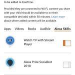 Freetime - Verwalte Apps, Alexa Skills, Videos oder Bücher